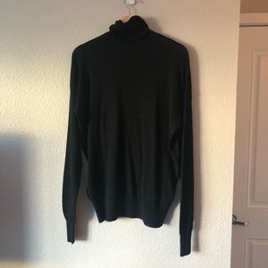 Zara Knit Turtleneck Sz M Black